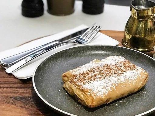 greek custard pies