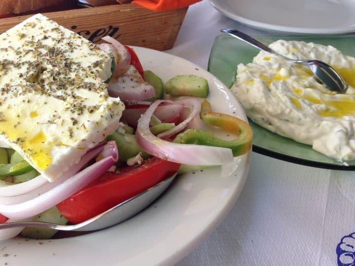 Horiatiki ( Greek Salad )