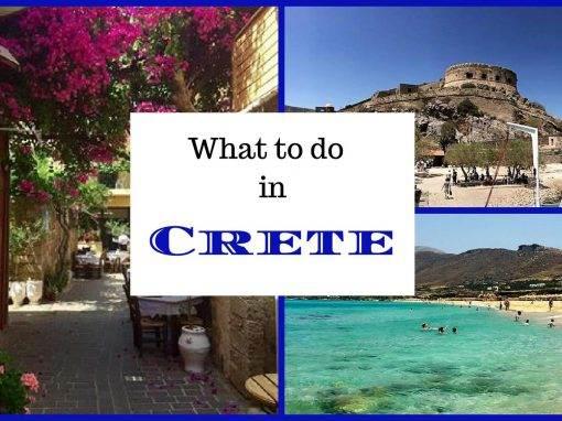 crete activities