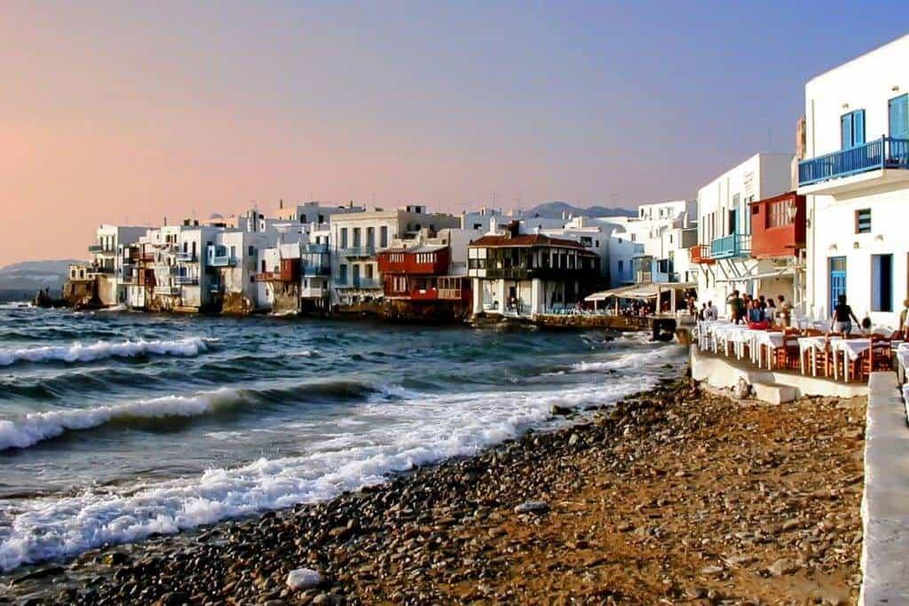waterfront mykonos