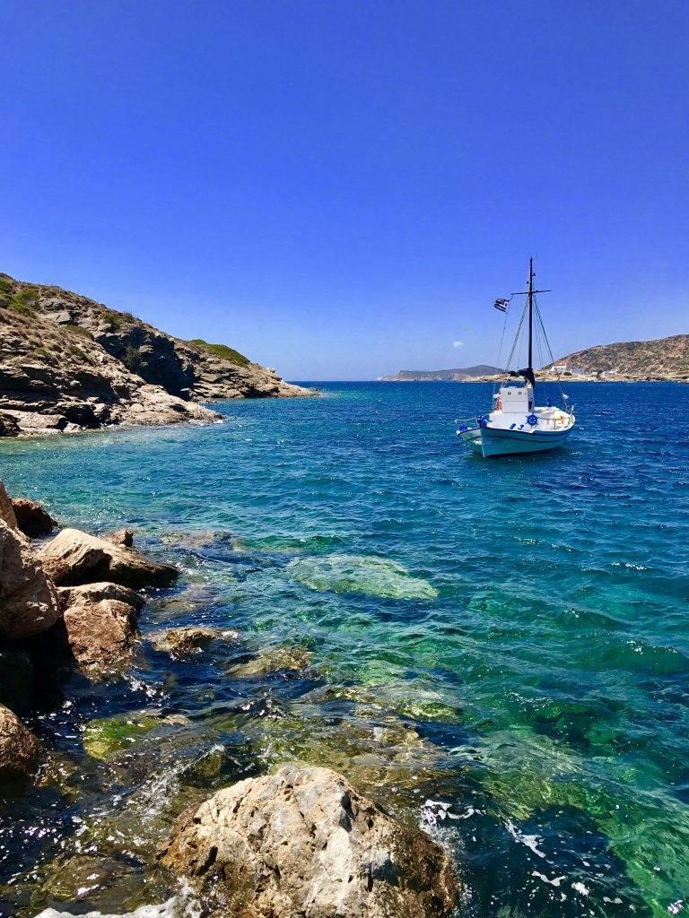 cyclades yacht