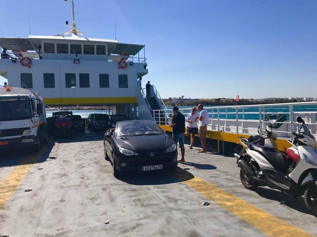 ferries in Greece