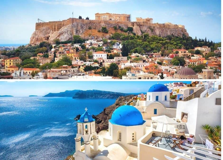 HOW TO GET FROM ATHENS TO SANTORINI
