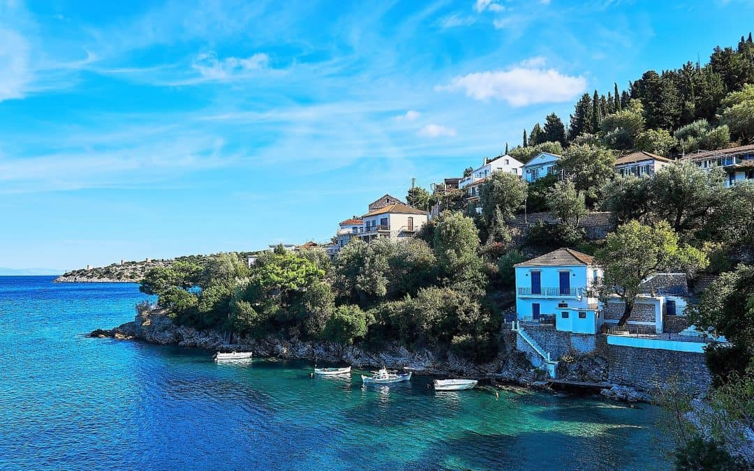 FOLLOW IN THE FOOTSTEPS OF ODYSSEUS: VISIT THE ISLAND OF ITHACA,GREECE