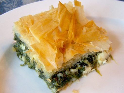 spinach feta pie