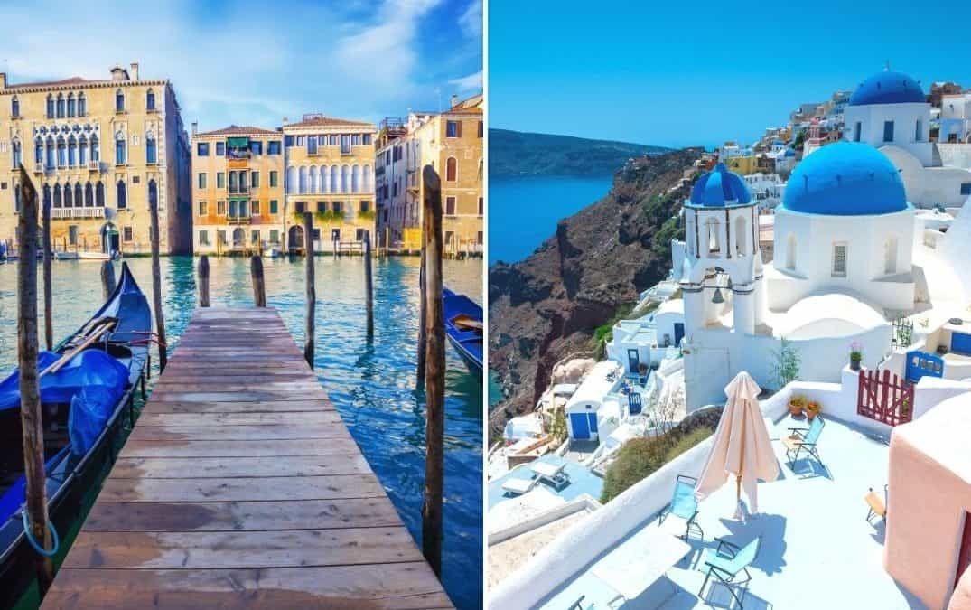 THE PERFECT ITALY AND GREECE ITINERARY