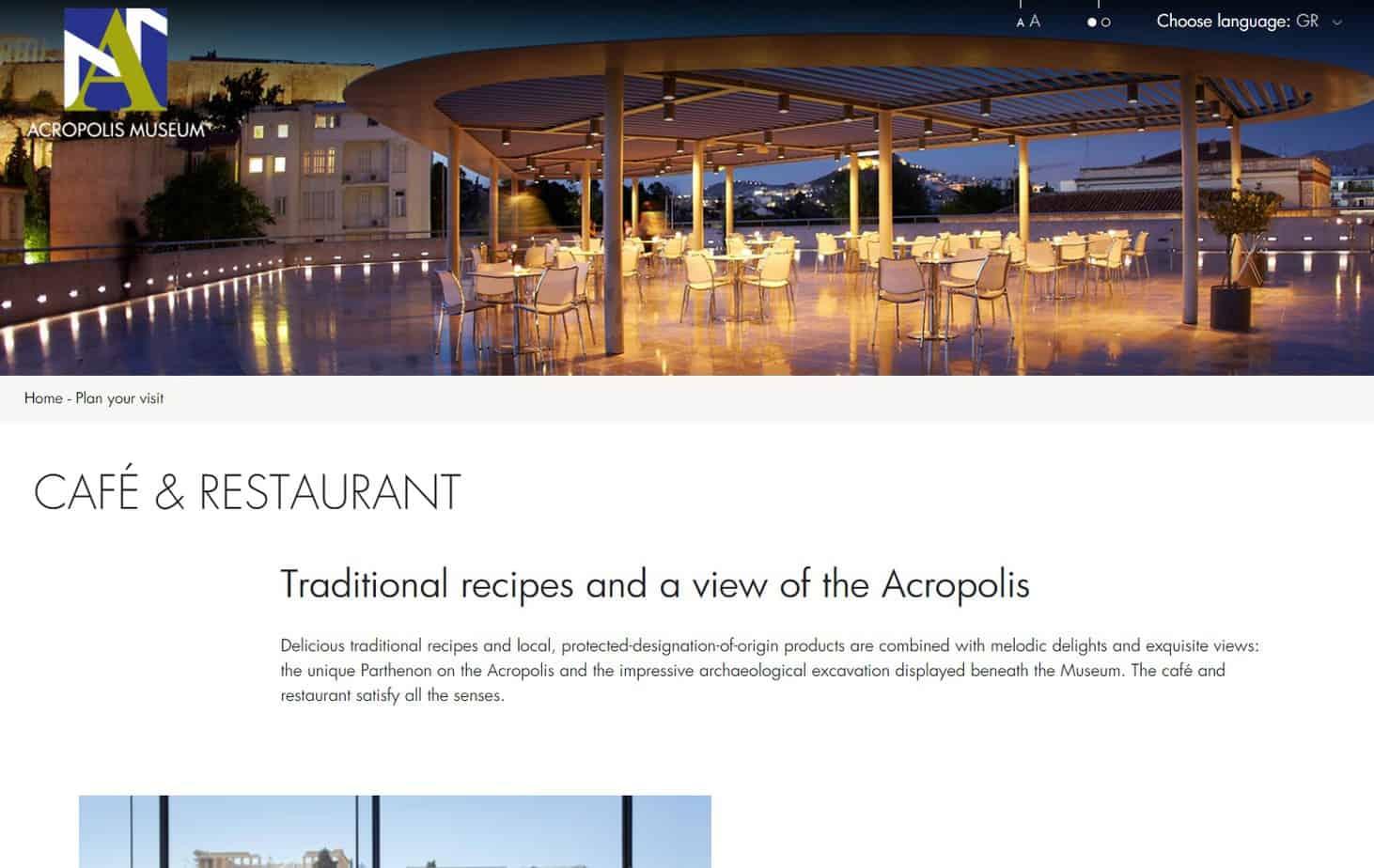 arcopolis view restaurants in athens