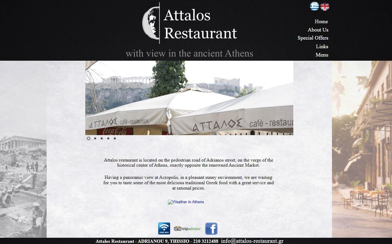 rooftop restaurant's in Athens