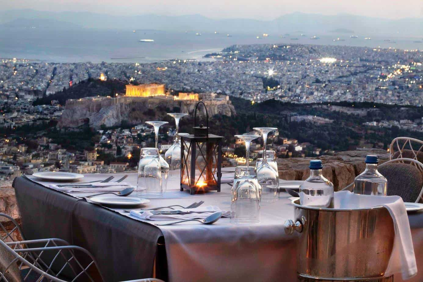 11 OF THE BEST ROOFTOP RESTAURANTS IN ATHENS IN 2021