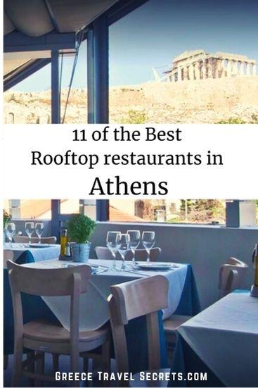 rooftop restaurants athens